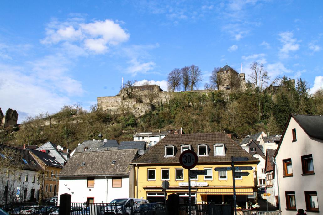 Hein´s Mühle Sayn, Burg Sayn
